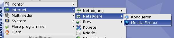 Mandrake start Firefox