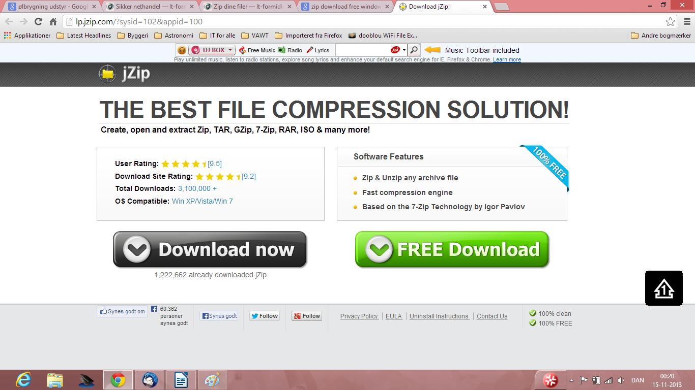 sikkert a installere spamfilter